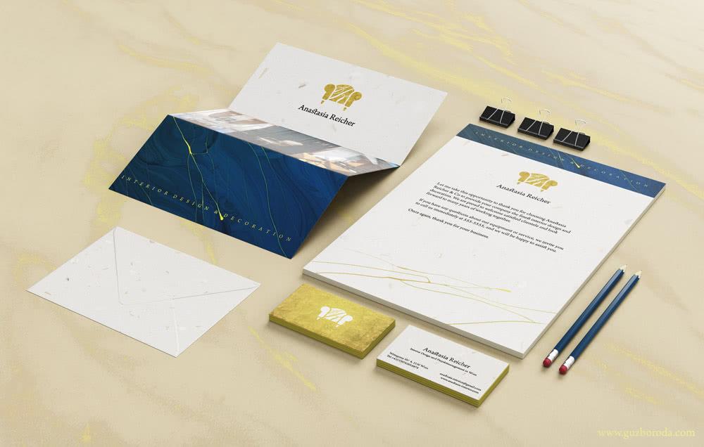 The corporate style for Interior Designer