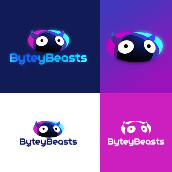 The logo for the game studio ByteyBeasts