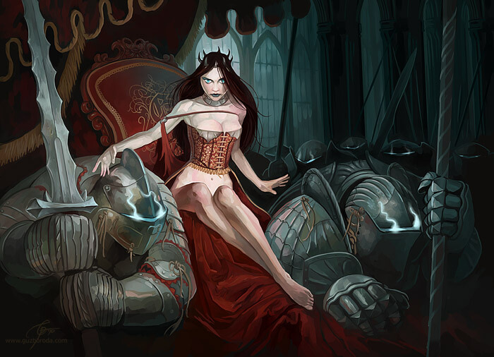 Character for Berserk CCG. © 2010 Fantasy World, Inc