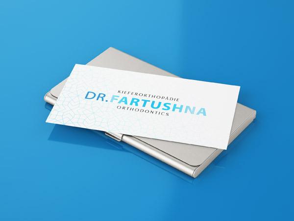 Business card design for Orthodontist