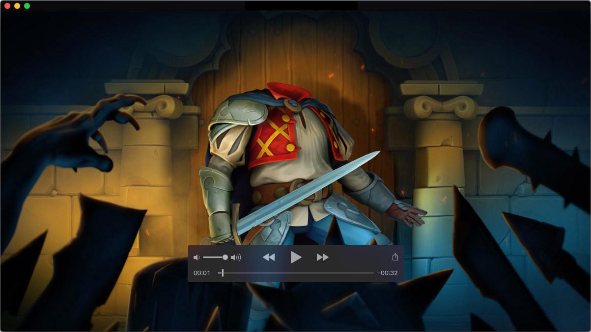 Video/motion design for trailer for HeadlessD video game