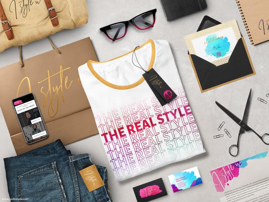 Brand identity for a fashion company I STYLE U
