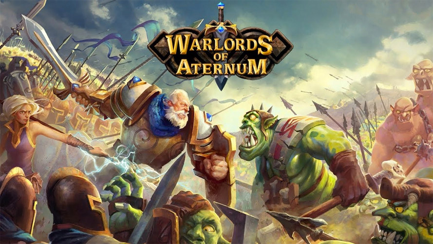 Concept Art for Warlords of Aternum