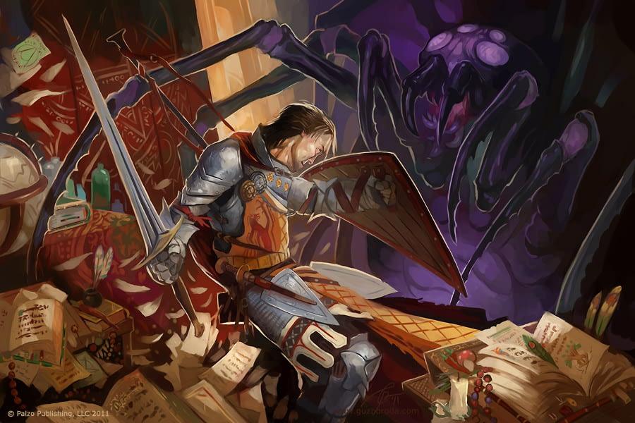 Illustration for Pathfinder Companion. © Paizo Publishing, LLC 2009