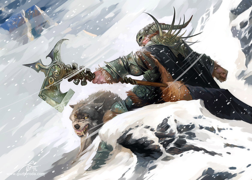 Character for Berserk CCG. © 2011 Fantasy World, Inc