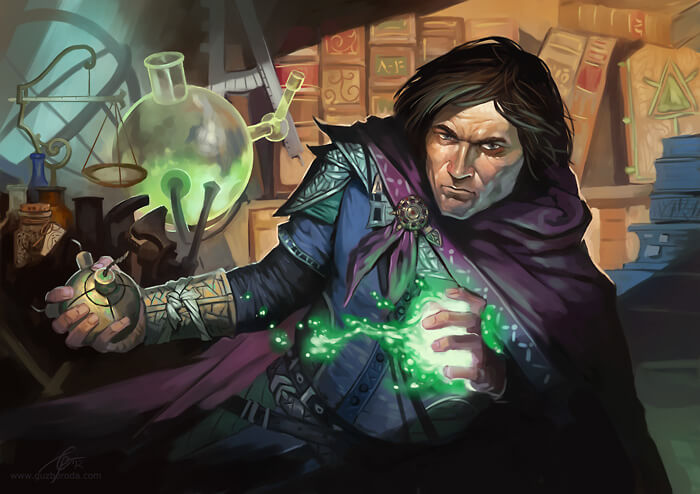 Character for Berserk CCG. © 2012 Fantasy World, Inc