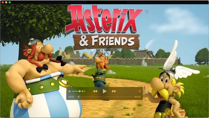Concept art for Asterix & friends