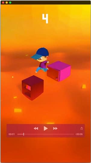 3D models and animation for hyper-casual mobile game Floor is lava
